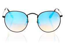 Ray Ban Round Metal 3447sky-black