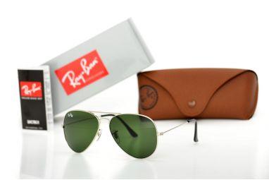 Солнцезащитные очки, Ray Ban Original 3026D-green-s