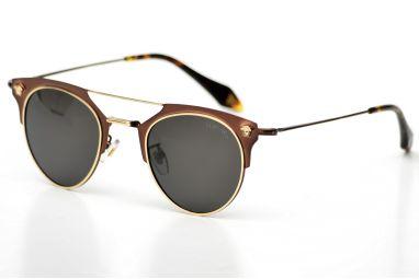 Солнцезащитные очки, Женские очки Versace 2168bronze