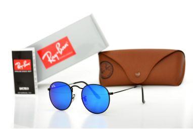Солнцезащитные очки, Ray Ban Round Metal 3447blue-b