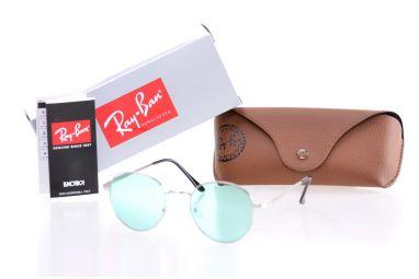 Солнцезащитные очки, Ray Ban Round Metal 8144green