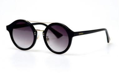 Солнцезащитные очки, Женские очки Gucci 0066-002-bl