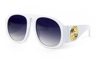 Солнцезащитные очки, Женские очки Gucci 0152-white