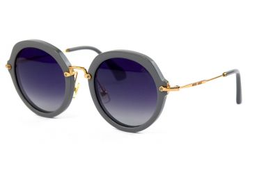Солнцезащитные очки, Женские очки Miu Miu 52-26-grey