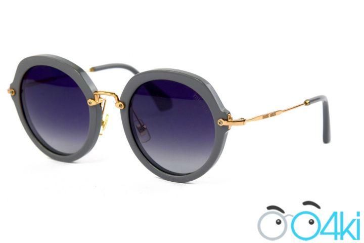 Женские очки Miu Miu 52-26-grey