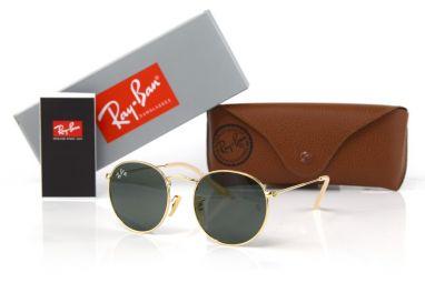 Солнцезащитные очки, Ray Ban Round Metal 3447-black-g