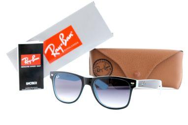 Солнцезащитные очки, Ray Ban Wayfarer 2140-1001/3FA