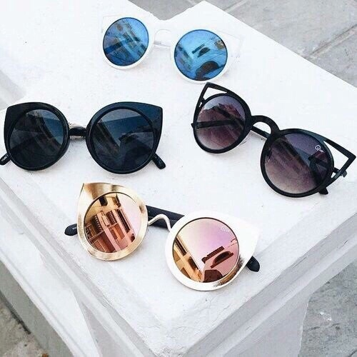 Покупка солнцезащитных очков