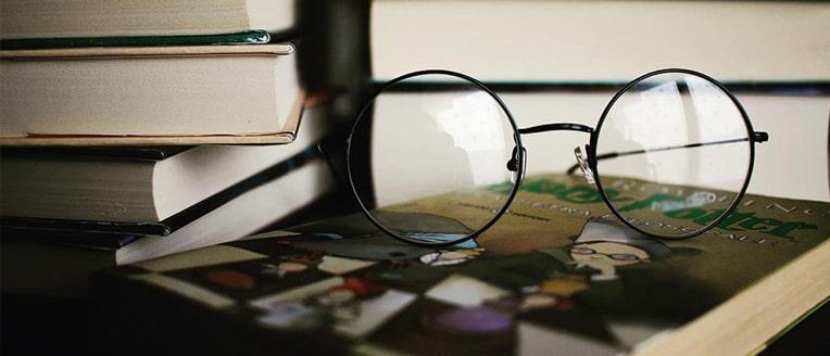 Металлическая оправа очков фото