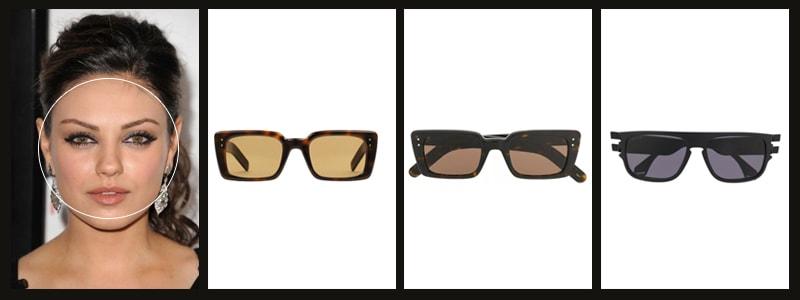 как подобрать женские очки с круглой формой лица