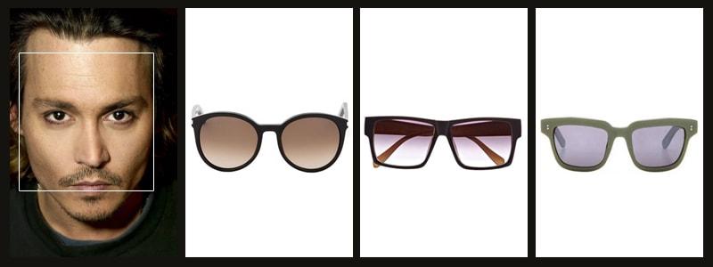 какие очки идут мужчине с квадратной формой лица