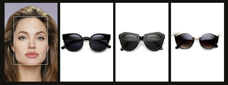 какие очки идут женщинам с квадратной формой лица