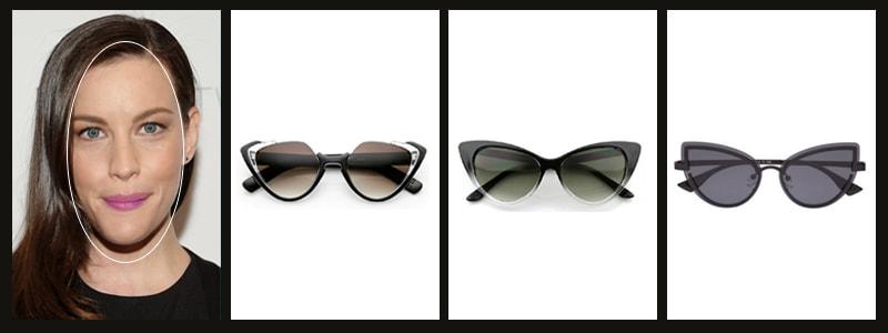 какие женские очки подойдут к вытянутому лицу