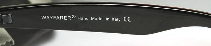 Маркировка на дужке в солнцезащитных очках фото