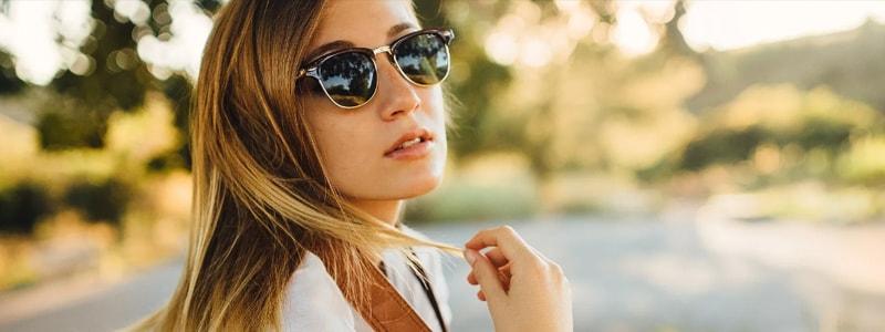 с чем носить очки весной фото