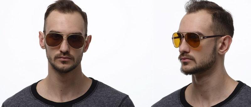 водительские очки каплевидной формы фото