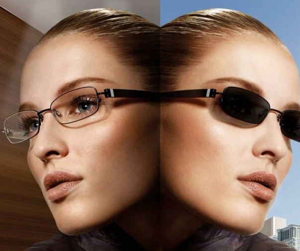 Фотохромные линзы - один из основных трендов современной моды